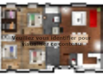 Plan de maison EAS-105-PLP 4 chambres  : Photo 1