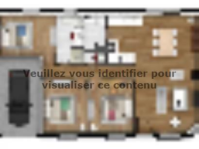 Plan de maison EAS-82-PLP-GI 3 chambres  : Photo 1