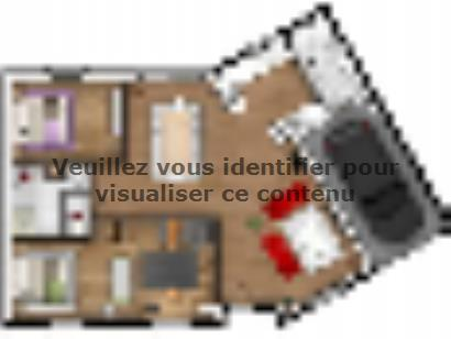 Plan de maison EAS-85-PLP-V-GI 3 chambres  : Photo 1