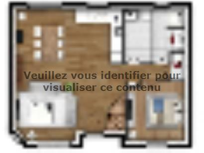Plan de maison EAS-85-C 3 chambres  : Photo 1