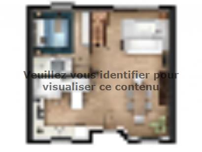 Plan de maison EAS-86-C 4 chambres  : Photo 1