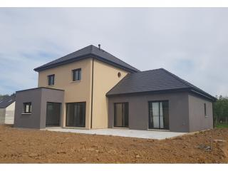Visitez une maison neuve livrée de 194 m² à LOUVETOT (76) près d'Yvetot