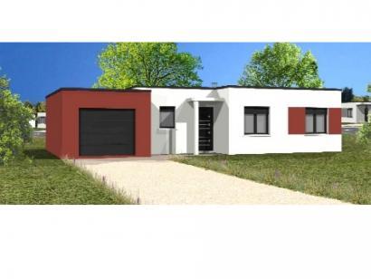 Modèle de maison Avant-Projet NESMY - 104 m2 - 3 chambres 3 chambres  : Photo 1