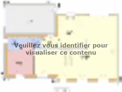 Plan de maison ROSERAIE C2G-165 5 chambres  : Photo 1