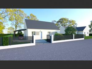 Maison neuve à Cléré-les-Pins (37340)<span class='prix'> 154000 €</span> 154000