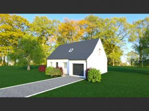 Maison neuve à Fondettes (37230)<span class='prix'> 296000 €</span> 296000