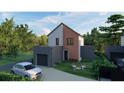 Modèle de maison VOIE.BACHELIERE_T5_104m² 4 chambres  : Photo 1