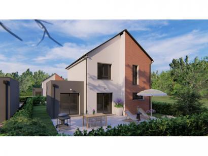 Modèle de maison VOIE.BACHELIERE_T5_104m² 4 chambres  : Photo 2