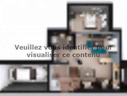 Plan de maison VOIE.BACHELIERE_T5_104m² 4 chambres  : Photo 1