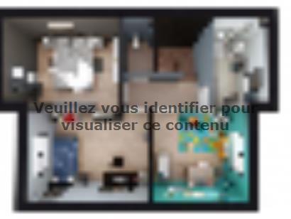 Plan de maison VOIE.BACHELIERE_T5_104m² 4 chambres  : Photo 2