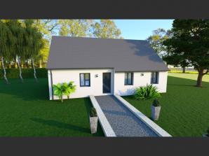 Maison neuve à Rouziers-de-Touraine (37360)<span class='prix'> 164100 €</span> 164100