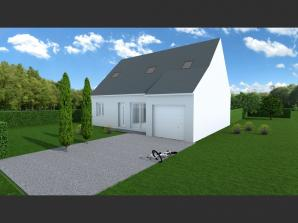 Maison neuve à Rouziers-de-Touraine (37360)<span class='prix'> 196100 €</span> 196100