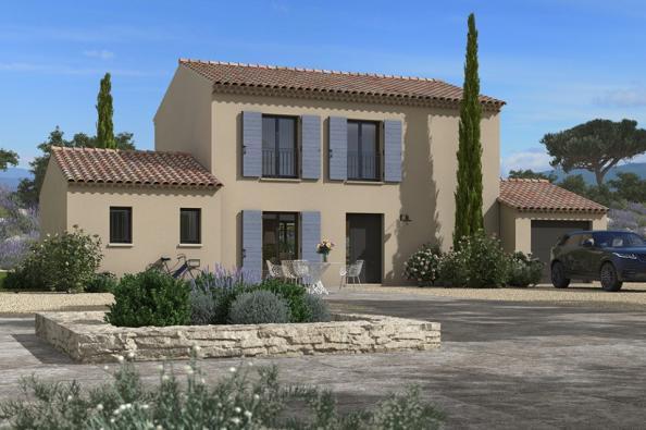 Modèle de maison Bastide 110+20 4 chambres  : Photo 1