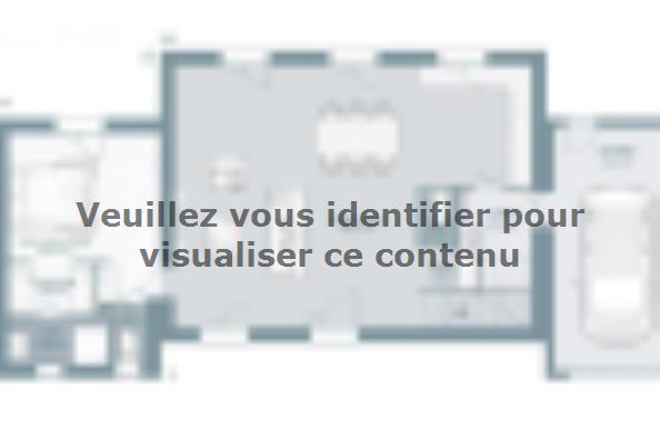 Plan de maison Bastide 110+20 4 chambres  : Photo 1