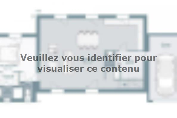 Plan de maison Bastide 125+20 5 chambres  : Photo 2