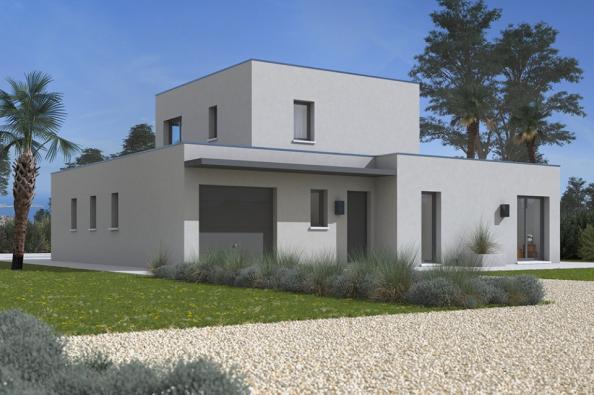 Modèle de maison Bioclima 120 3 chambres  : Photo 1