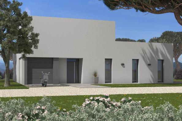 Modèle de maison Bioclima 180 4 chambres  : Photo 1