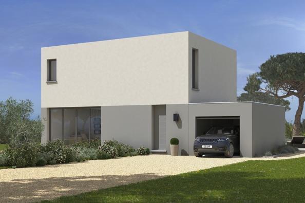 Modèle de maison California 120 4 chambres  : Photo 1