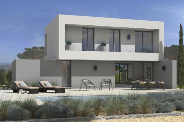 Modèle de maison California 120 4 chambres  : Photo 2