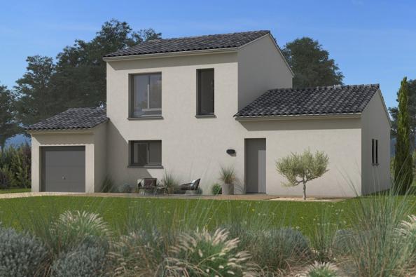 Modèle de maison Familia 100 3 chambres  : Photo 1