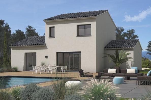 Modèle de maison Familia 110 4 chambres  : Photo 2