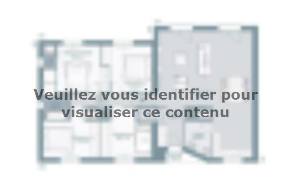 Plan de maison Harmonia 110 4 chambres  : Photo 1