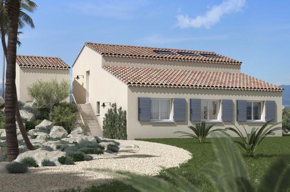 Modèle de maison Lumina 100 rez-de-jardin 3 chambres  : Photo 1
