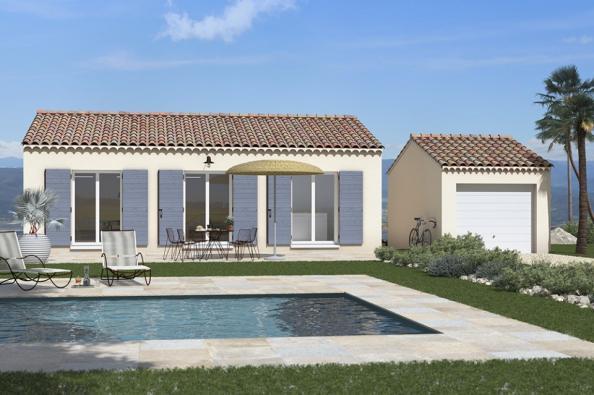 Modèle de maison Lumina 100 rez-de-jardin 3 chambres  : Photo 2