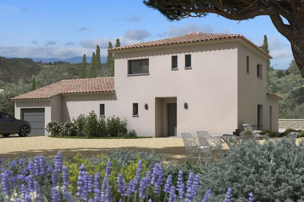 Modèle de maison Méditerranée 140 4 chambres  : Photo 1
