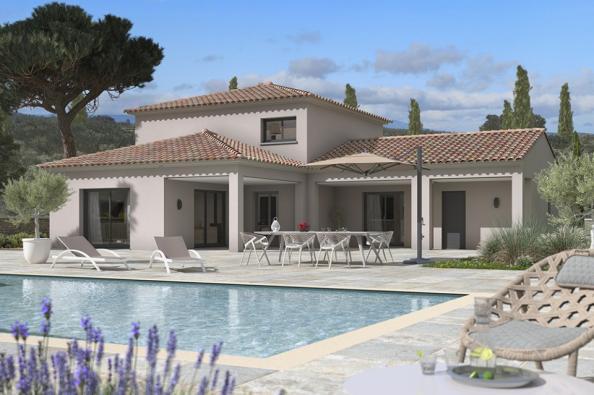 Modèle de maison Méditerranée 140 4 chambres  : Photo 2