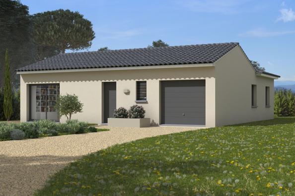 Modèle de maison Natura 90 3 chambres  : Photo 1