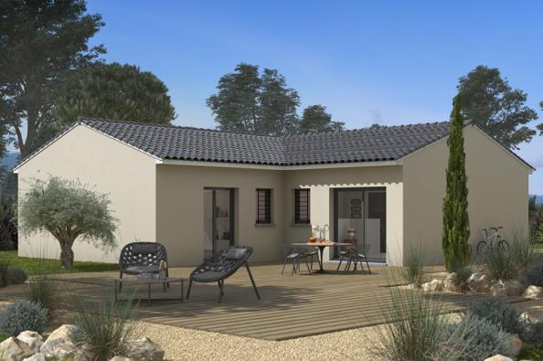 Modèle de maison Natura 90 3 chambres  : Photo 2