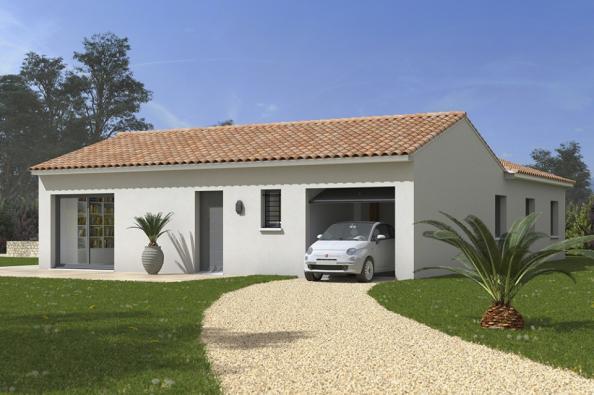 Modèle de maison Natura 110 4 chambres  : Photo 1