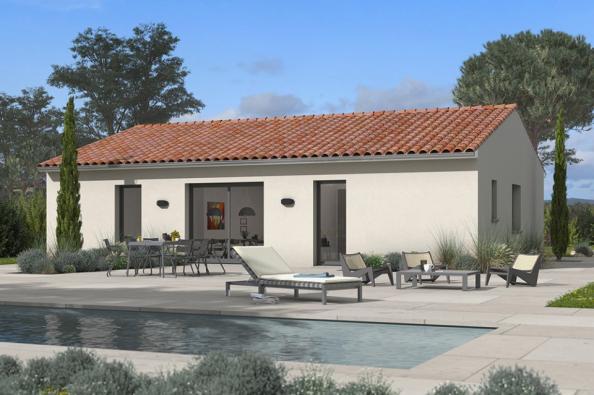 Modèle de maison Optima 75 3 chambres  : Photo 2