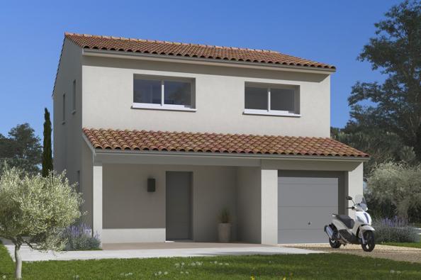 Modèle de maison Optima 85 3 chambres  : Photo 1