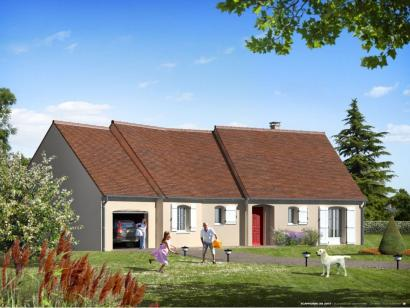 Maison neuve  à  Villaines-les-Rochers (37190)  - 186900 € * : photo 1