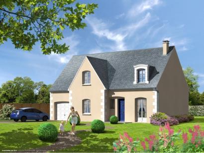 Maison neuve  à  Villaines-les-Rochers (37190)  - 191900 € * : photo 1