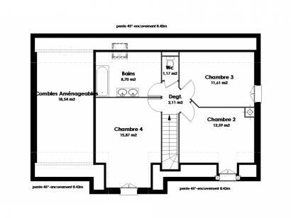 Maison neuve  à  Villaines-les-Rochers (37190)  - 191900 € * : photo 3