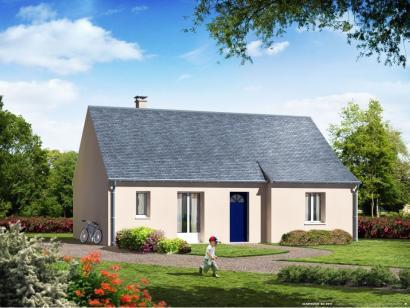 Maison neuve  à  Villaines-les-Rochers (37190)  - 143900 € * : photo 1