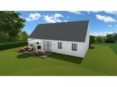 Maison neuve  à  Villaines-les-Rochers (37190)  - 156900 € * : photo 2