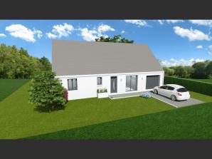 Maison neuve à Villaines-les-Rochers (37190)<span class='prix'> 152500 €</span> 152500