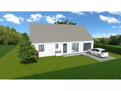 Maison neuve  à  Villaines-les-Rochers (37190)  - 152500 € * : photo 1