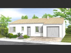 Maison neuve à Dompierre-sur-Yon (85170)<span class='prix'> 161700 €</span> 161700
