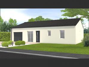 Maison neuve à Dompierre-sur-Yon (85170)<span class='prix'> 164800 €</span> 164800