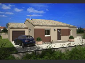 Maison neuve à Dompierre-sur-Yon (85170)<span class='prix'> 176990 €</span> 176990