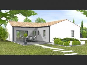 Maison neuve à Dompierre-sur-Yon (85170)<span class='prix'> 192100 €</span> 192100
