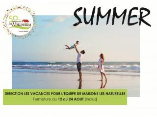 Congés d'été