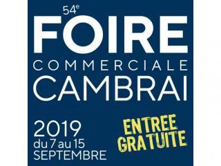 Foire commerciale de Cambrai (59) du 07 au 15 septembre
