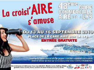 Foire commerciale et artisanale d'Aire sur la Lys (62) du 13 au 16 septembre 2019