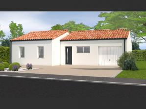 Maison neuve à Saligny (85170)<span class='prix'> 169400 €</span> 169400